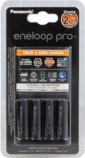 Cargador de pilas recargables AA/AAA Panasonic BQ-CC55E + 4 baterias Pro 2500