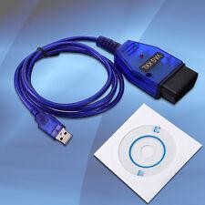 USB Cable KKL VAG-COM 409.1 OBD2 II OBD Diagnostic Scanner VW/Audi/Seat VCDS