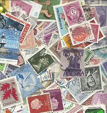 0,2 kilo de timbres monde stamps world off paper
