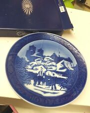 Royal Copenhagen 1997 Christmas Plate Roskilde Cathedral Excellent Cond FREE P&P