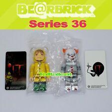 Medicom 100% Be@rbrick Series 36 Horror Bearbrick The IT [In Stock] Set of 2 S36