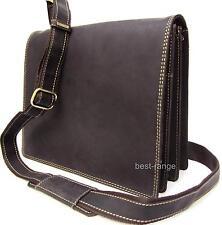 Messenger Shoulder Bag Real Leather Oil Brown Visconti Harvard Medium New 16025