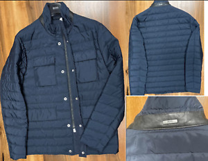 Hugo Boss Tailored Quilted Padded Steppjacke Jacke Jacket Coat Water-Repellent M