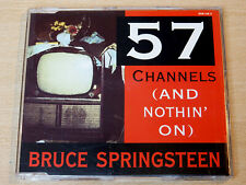 Bruce Springsteen/57 Channels & Nothin On/1992 CD Single