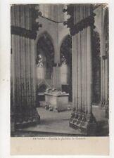 Batalha Capella do Fundador do Convento Portugal Vintage U/B Postcard 505b