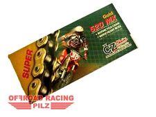 CZ Kette 520 MX SUPER GOLD für GasGas,KTM,Husqvarna,Yamaha,TM,Suzuki,Honda,Kawa