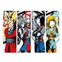 Bandai Spirits D Art Towel X All 4 Ichiban Kuji Dragonball Super Fighter Z The
