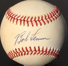 BOB LEMON signed OALB baseball - Beckett (BAS) certified AUTOGRAPH - HOF!