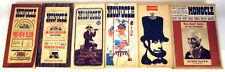 Vintage 1960s Monocle Magazine 6 Book Lot