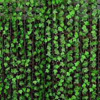 Best New Green Manmade Ivy Leaf Plants Vine Fake Foliage Flowers Home Decor