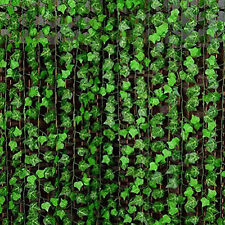 Best New Green Manmade Ivy Leaf Plants Vine Fake Foliage Flowers Home Decor