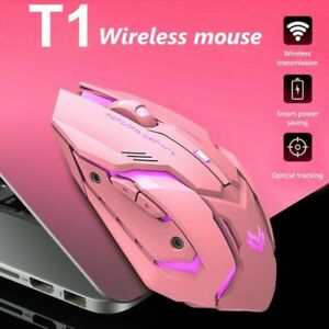 2.4GHz Wireless Optical Mouse Mice & USB Receiver 1600DPI For PC Laptop Computer
