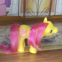 1989 Vintage My Little Pony Baby Flickr Drink And Wet Fishbowl Yellow
