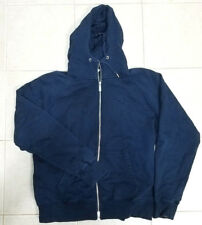 Nike AW77 Mens Zip Up Hoodie Jacket Blue Size L