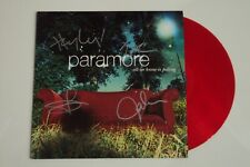 SIGNED - Paramore ALL WE KNOW IS FALLING Vinyl - RED