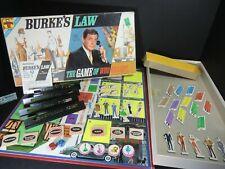 Burke's Law - vintage board game - COMPLETE 1963 - Who Killed?