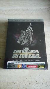 Les Chevaliers du Zodiaque La Légende du Sanctuaire Edition Deluxe Blu Ray+DVD+