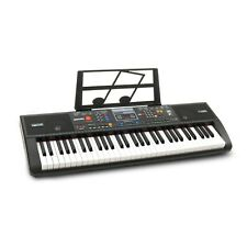 Plixio 61-Key Electric Piano Keyboard with Music Stand Portable Learners Lessons