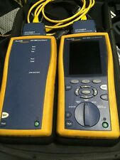 Fluke dtx-1800 cable analyzer test up to cat 6a