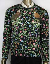 Gucci Men's Multicolor Cotton Bird Flower Rapaci Print Sweatshirt XS 408241 1082