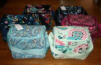 Vera Bradley ICONIC STAY COOLER Insulated Lunch bag sack bunch  SLR Camera Case
