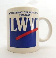 League of Women Voters Coffee Mug Cup LWV 85th Birthday Celebration 1920-2005