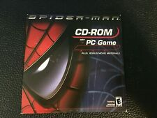 SPIDER-MAN CD-ROM  with PC Game Activision Kellogg's BRAND NEW SEALED 2002