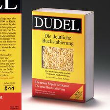 DUDEL, DUDEN-Persiflage von Alexander Totter, num/signiert, 2000