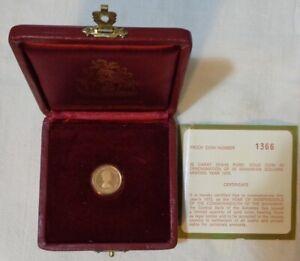 "Bahamas 1975 ""Independence Anniversary"" Bahamas $50 Proof Gold Coin, KM#69"