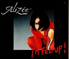Alizée ‎– I'm Fed Up !  CD Single, Promo 2003 Digipak