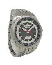 Bulova Precisionist 96B172 Men's Round Analog Date Stainless Steel Watch