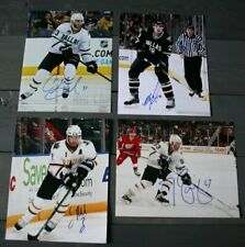 Lot 4 Autographed Dallas Stars 8x10 Photos  Eriksson Ribeiro Brunnstrom Peterson