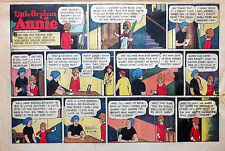 Little Orphan Annie by Gray - large half-page color Sunday comic - April 9, 1944