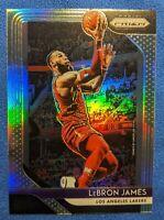 2018-19 Panini Prizm Basketball Silver LeBron James #6 Lakers Cavaliers SP SSP