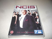 NCIS THE THIRD SEASON DVD BOX SET 7 DISCS BRAND NEW AND SEALED
