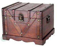 Small Wooden Treasure Box, Old Style Treasure Chest