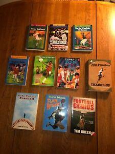 Sports Chapter Books Lot -  10 books  - Matt Christopher + Others  (See Pics)