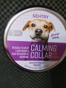 SENTRY Calming Collar for Dogs 3 Collars