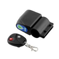 New Lock Bicycle Bike Security Wireless Remote Control Vibration Alarm Super
