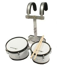 2er Marching Drum Set Timptoms+Carrier+Accessories
