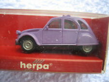 Herpa Voiture Miniature 1:87 HO CITROEN 2 CV Violet