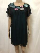 Matthew Williamson Dress Women ~ Size 2 / AU 8 ~ New w/o Tags Embroidered Floral