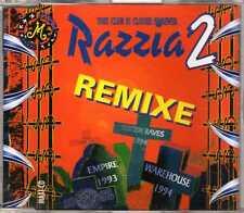 M - Razzia 2 (This Club Is Closed Forever) (Remixe) - CDM - 1995- Happy Hardcore