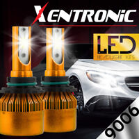 XENTRONIC LED HID Headlight kit 9006 White for 1992-1999 GMC K1500 Suburban