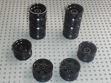10 roues LEGO TECHNIC wheel 30.4 x 20 ref 56145 / 7784 8053 8160 8141 8169 8140