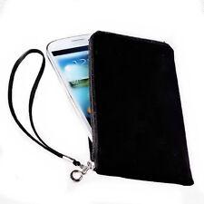 Handy Universal Soft Touch Tasche Etui in Schwarz für Samsung i9500 Galaxy S4