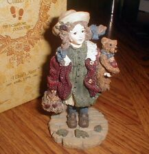 Boyds Dollstones Collection Yesterday's Child Candice with Matthew #3514