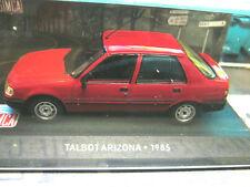 SIMCA TALBOT CHRYSLER Arizona/PEUGEOT 309 rouge red 1985 IXO ALTAYA 1:43