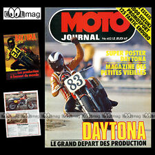 MOTO JOURNAL N°402 PATRICIA LE BEUZ SUZUKI GS 1000 FANTIC 125 RC DAYTONA 1979