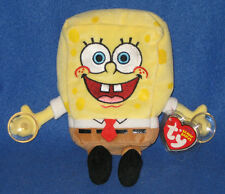 TY SPONGEBOB STUCK ON YOU the BEANIE BABY - MINT with MINT TAG